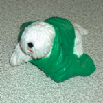 #67 Barney Komondor  Vintage Puppy in my pocket dogs 1994